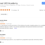 Everest IAS Academy Bangalore Reviews