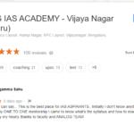 Analog IAS Coaching in Bangalore Reviews
