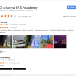 Sri Chaitanya IAS Academy Hyderabad Reviews