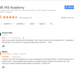 CSB IAS Academy Hyderabad Reviews